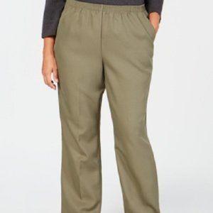 New Karen Scott Comfort Waist Classic Fit Pants